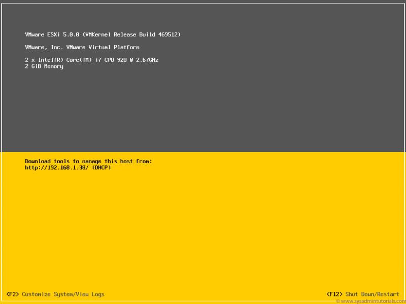 Cara Install VMWare vSphere Hypervisor™ ESXi (bag 2)
